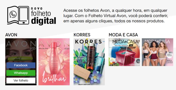 avon online Catálogo Virtual
